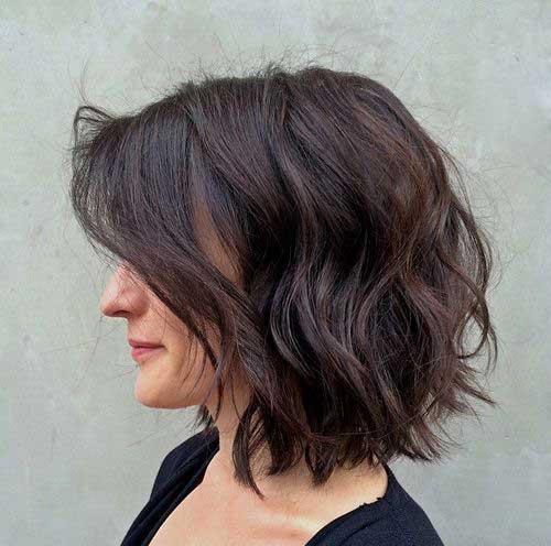 Short Layered Curly Haircuts-16