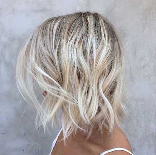 Blonde Short Hair-17