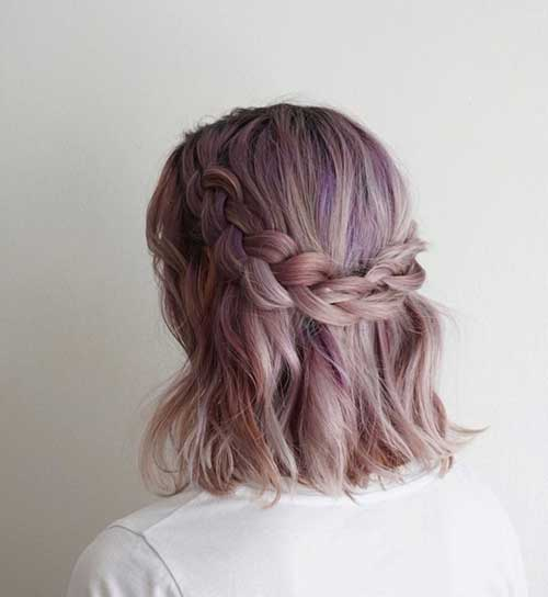 Cute Short Hairstyles for Girls-17