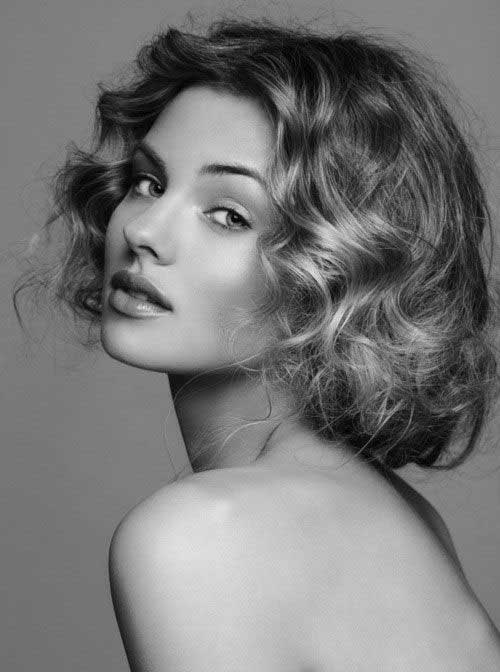 Curly Short Hairstyles 2015-18