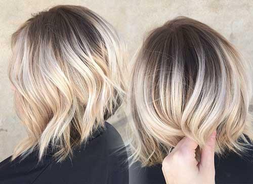 Blonde Short Hair-19