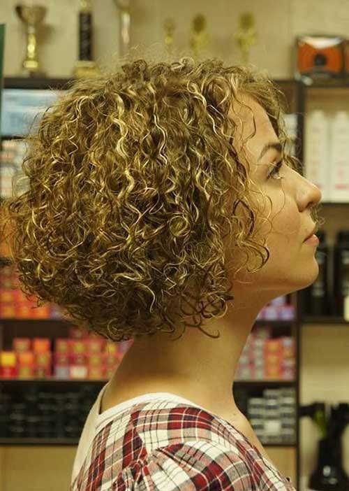 Curly Short Hairstyles 2015-19