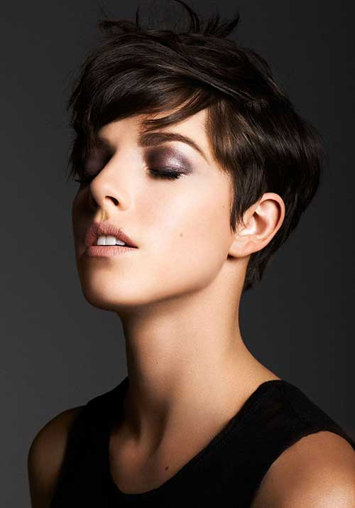 Cute Short Hairstyles for Girls-19
