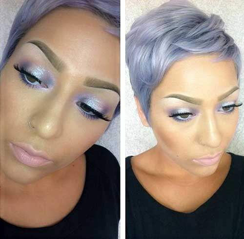 Short Hair Colour Trends 2015-19