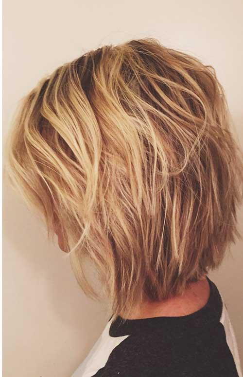 Blonde Short Hair-20