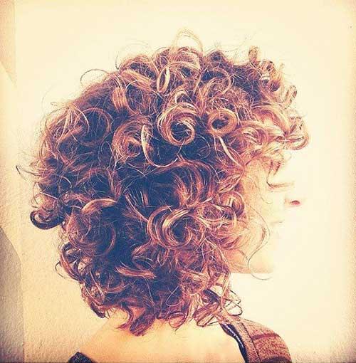 Short Layered Curly Haircuts-20