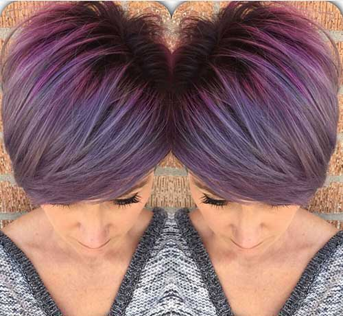 2015 Short Hair Color Trends