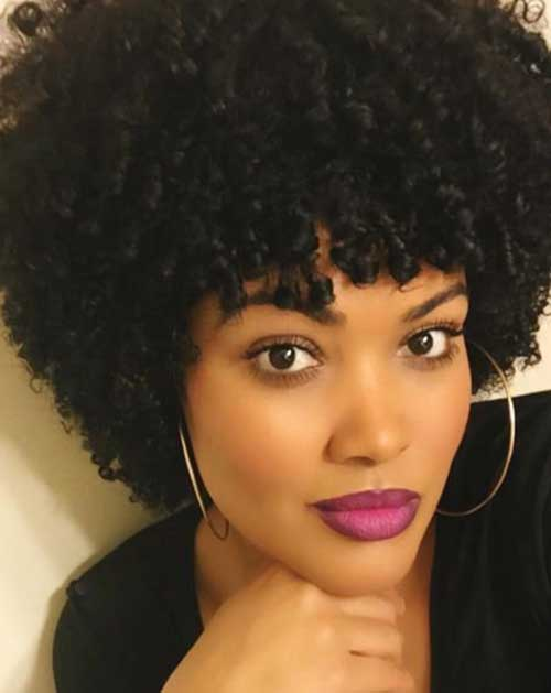 Short Natural Curly Hairstyles-21