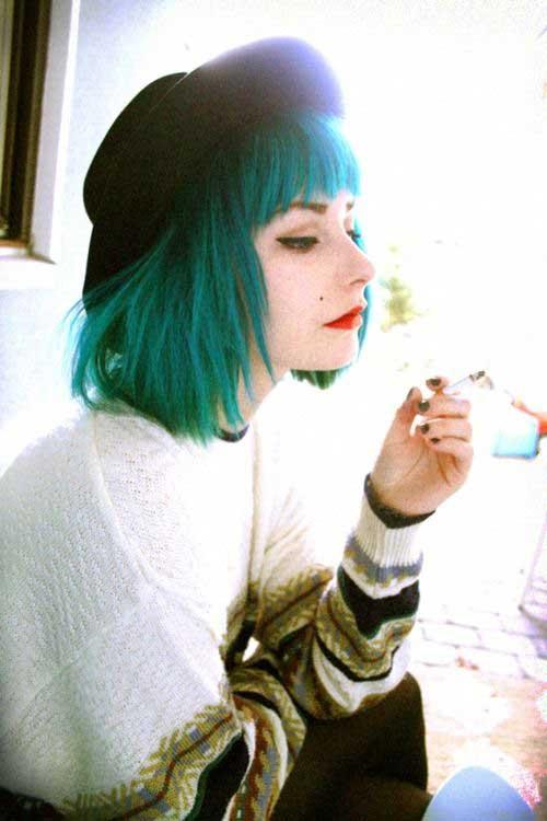 Short Hair Colour Trends 2015-22