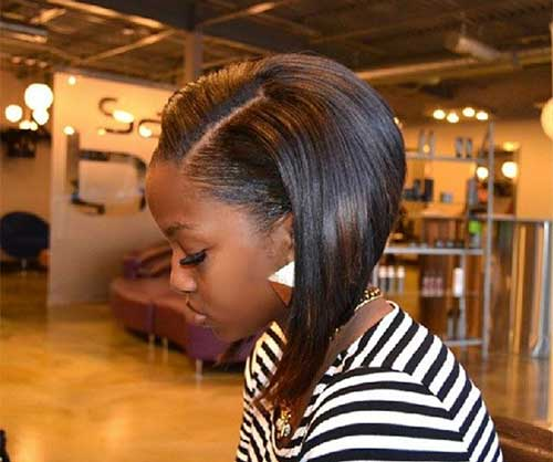 Bob Haircuts for Black Women-23