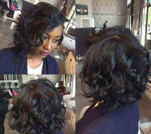 Bob Haircuts for Black Women-24