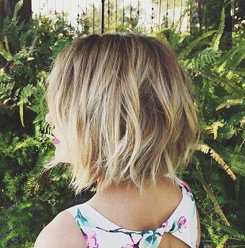 Blonde Short Hair-25