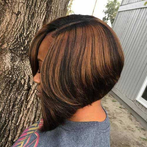 Bob Haircuts for Black Women-25
