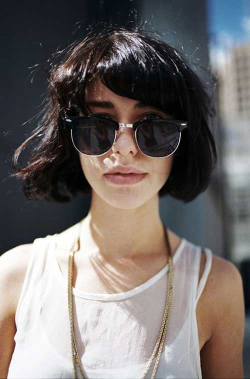 Cute Short Hairstyles for Girls-25