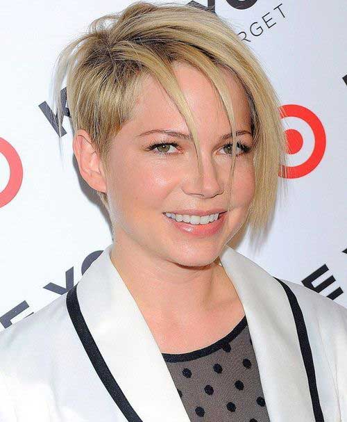 Cute Short Hairstyles for Girls-26