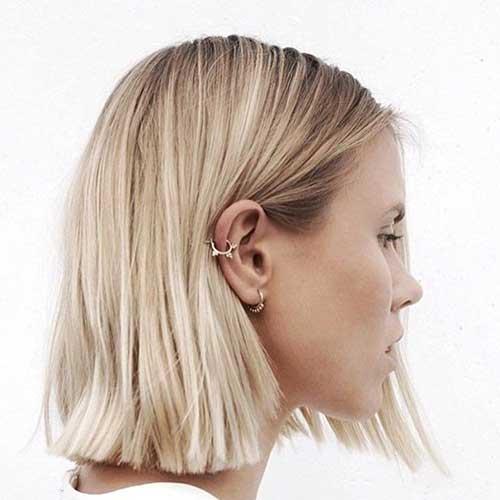 Blonde Short Hair-27