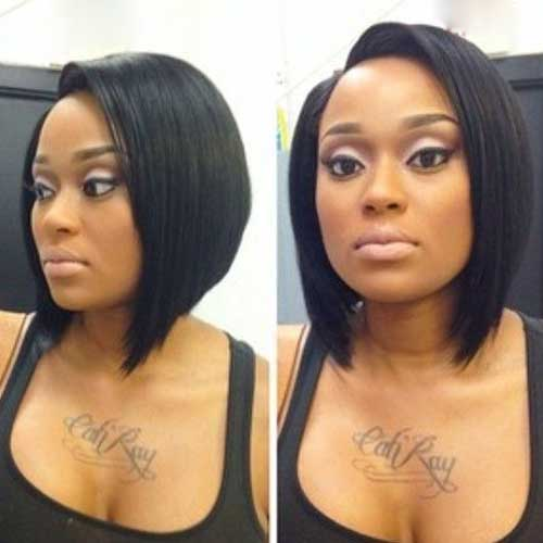 Bob Haircuts for Black Women-27