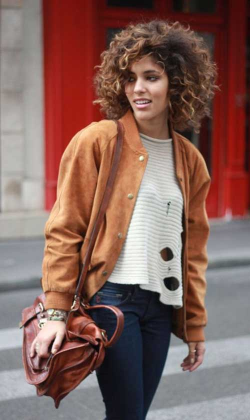 Short Natural Curly Hairstyles-27