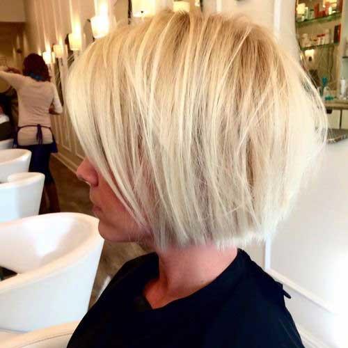 Blonde Short Hair-28