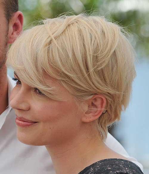 Blonde Short Hair-29
