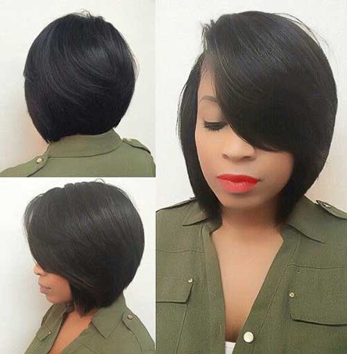 Bob Haircuts for Black Women-32