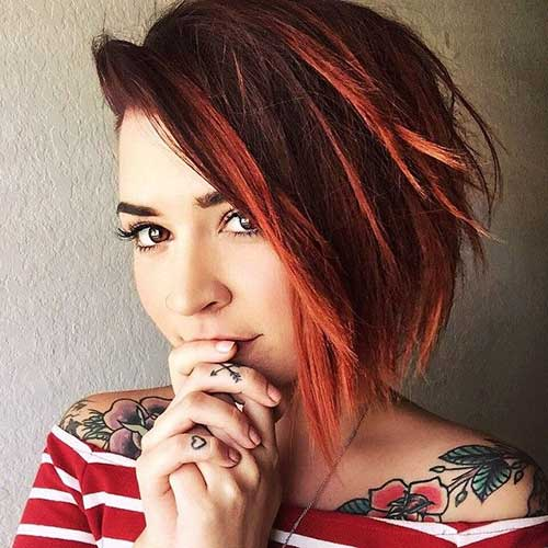 Short Haircuts for Girls-34