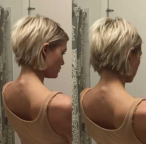 Blonde Short Hair-6