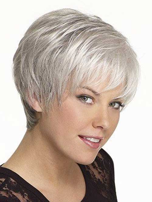 Women Over 50 Wedge Hairstyle | Short Hairstyle 2013