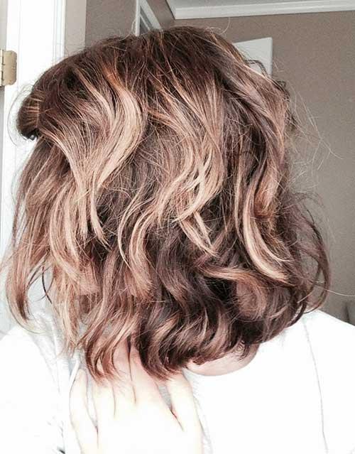 Short Layered Curly Haircuts-6