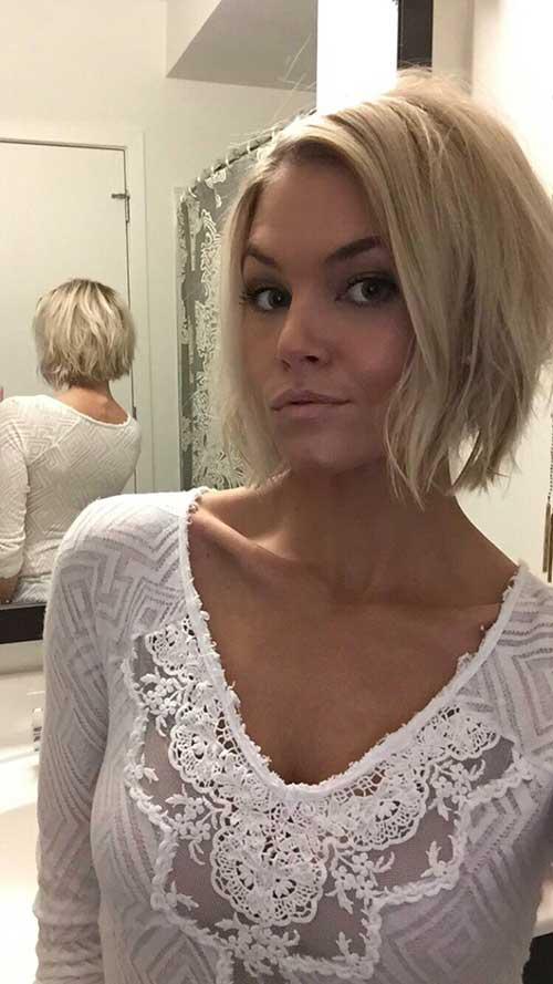 Blonde Short Hair-7