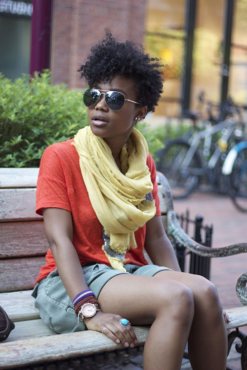 Curly Short Hairstyles for Black Women-7