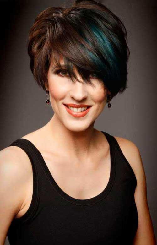 Short Hair for Women Over 40-7