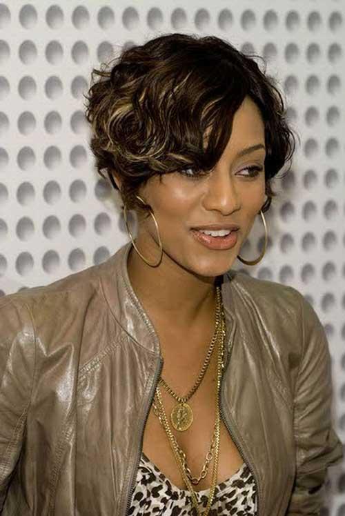 Bob Cut Hairstyles for Black Ladies-9