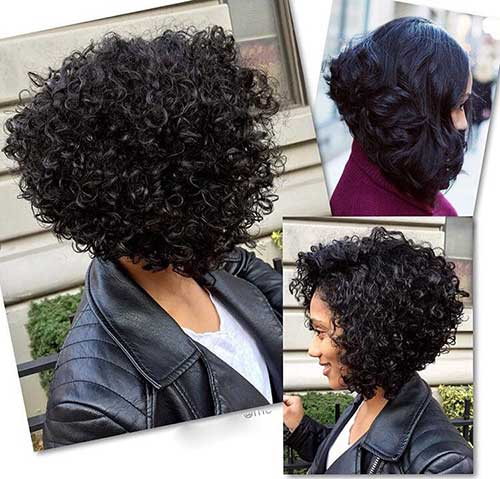 Short Natural Curly Hairstyles-9