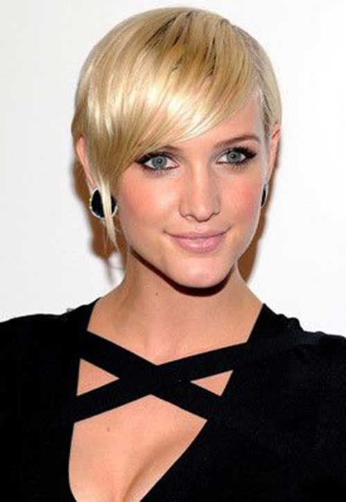 Ashlee Simpson Pixie | The Best Short Hairstyles for Women ... Ashlee Simpson