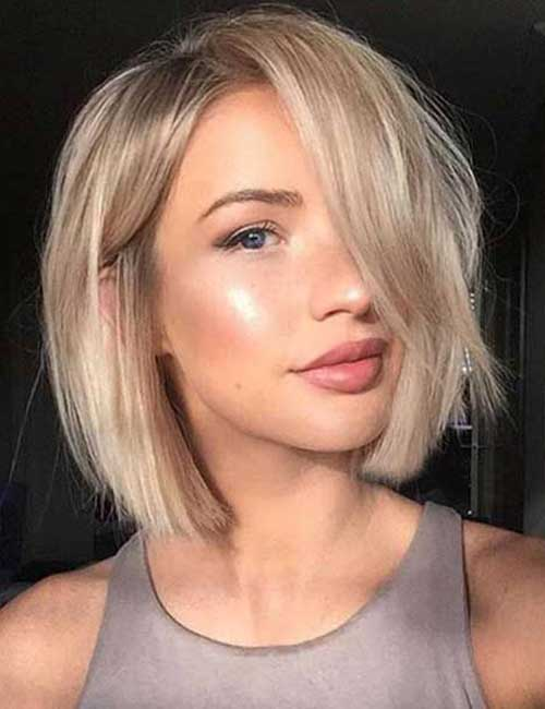 ... Hairstyles For Round Faces. on 2016 cute short hairstyles pinterest