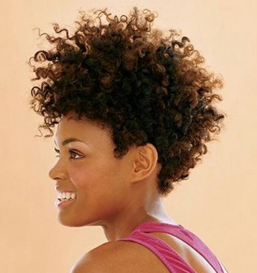 Short Curly Hair for Black Women