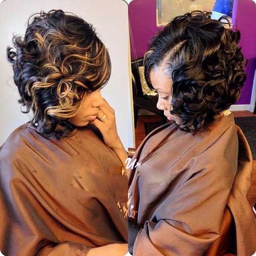 20+ Curly Short Weave Hairstyles - Hairstyles