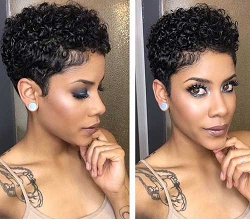 Natural Curly Short Hairstyles
