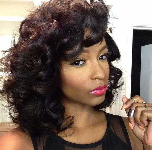 Short Curly Hair Weave Styles