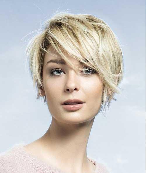 Short Hair Blonde