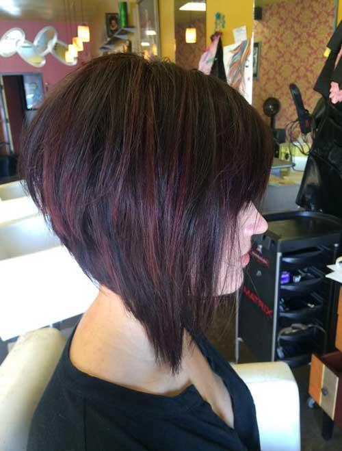 Short Hairstyles Dark Hair