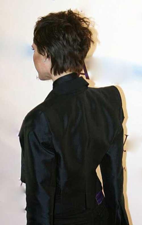 Victoria Beckham Hairstyles Pixie