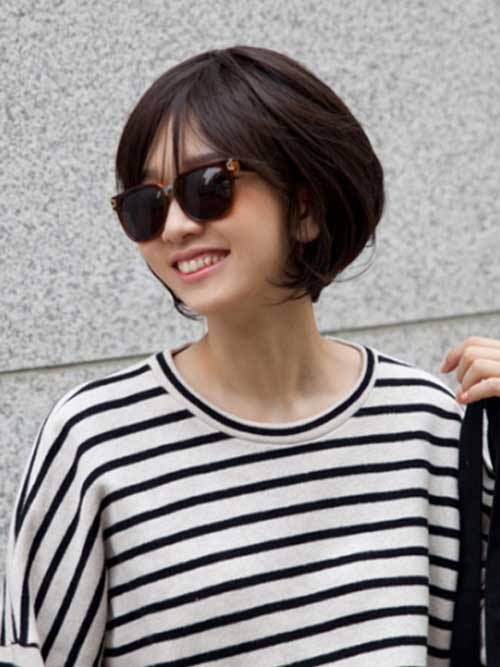 Hairstyles for Short Hair-10