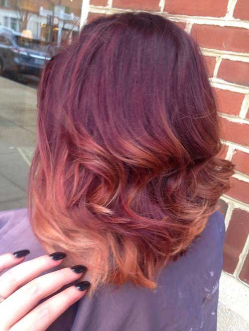 Ombre Hair Colors for Short Hair-10