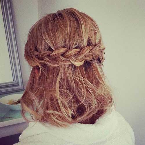 Cute Hairstyles for Short Hair-11