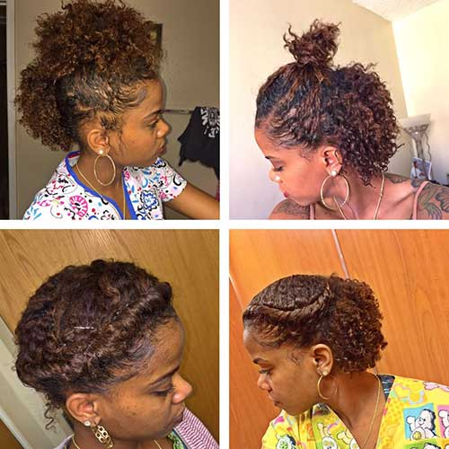 Hairstyles for Short Natural Hair-11