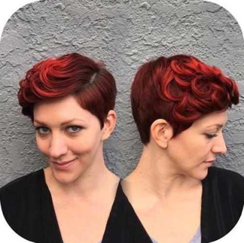 Red Pixie Hair-11