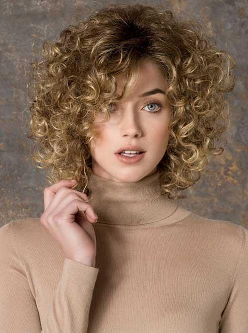 Short Curly Hair-11