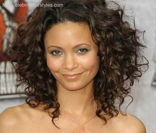 Short Hairstyles for Thick Curly Hair-11